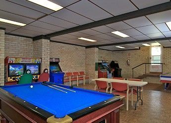 games room heritage motel